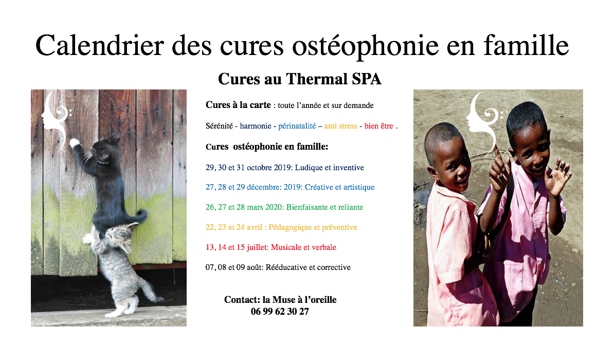 Cures famille Thermal SPA
